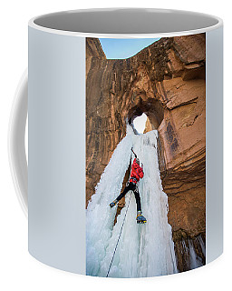 Ice Climber Coffee Mug