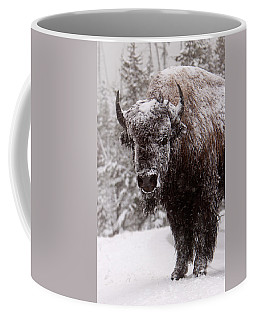 Ice Cold Winter Buffalo Coffee Mug