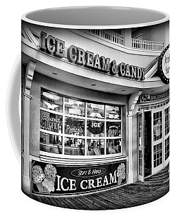 Ice Cream And Candy Shop At The Boardwalk - Jersey Shore Coffee Mug
