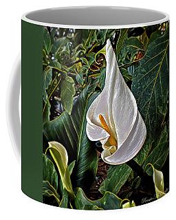 Coffee Mug featuring the digital art Ice Cream Calla Lily by Pennie  McCracken