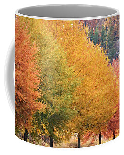 October Trees Coffee Mug