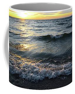 Ice Crystal Waves Three  Coffee Mug by Lyle Crump