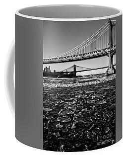 Ice Floe On The East River Coffee Mug