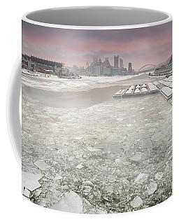Frozen Allegheny River  Coffee Mug