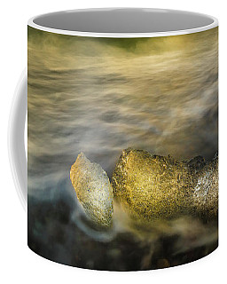 Ice In Surf At Dusk. Coffee Mug