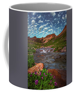 Coffee Mug featuring the photograph Ice Lake Nights by Darren White