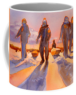 Ice Men Come Home Coffee Mug