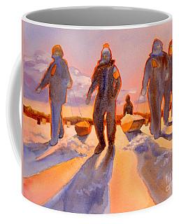 Ice Men Come Home Coffee Mug by Kathy Braud