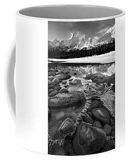 Ice On The Athabasca Coffee Mug