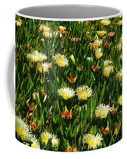 Coffee Mug featuring the photograph Ice Plants In Bloom by Glenn McCarthy Art and Photography