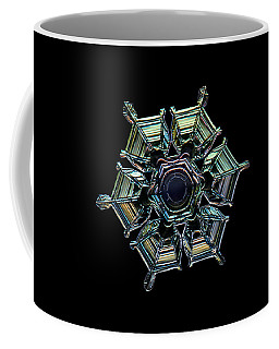 Coffee Mug featuring the photograph Ice Relief, Black Version by Alexey Kljatov