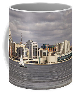 Ice Sailing - Lake Monona - Madison - Wisconsin Coffee Mug