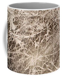 Ice Skating Marks Coffee Mug by John Williams