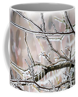 Ice Storm Ice Coffee Mug by Craig Walters
