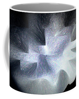 Ice Throne Abstract Coffee Mug