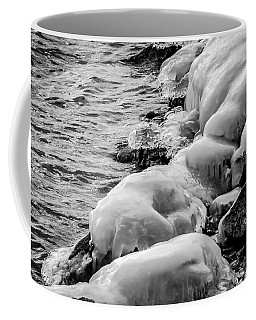 Coffee Mug featuring the photograph Ice Water by Ray Congrove