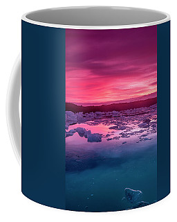 Iceberg In Jokulsarlon Glacial Lagoon Coffee Mug by Joe Belanger