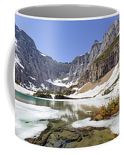 Coffee Mug featuring the photograph Iceberg Lake by Jack Bell
