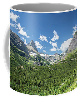 Iceberg Lake Trail Mountain Valley - Glacier National Park Coffee Mug
