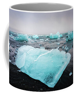 Iceberg Pieces In Iceland Jokulsarlon Coffee Mug