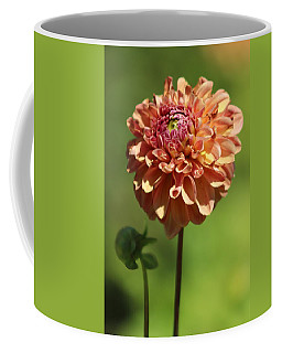 Iced Tea Dahlia In Marzipan And Milano Tones Coffee Mug