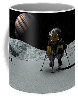 Icefield Landing Coffee Mug by David Robinson