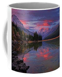 Icefields Parkway Autumn Morning Coffee Mug