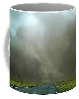 Iceland Dust Storm Reynisfjara Coffee Mug