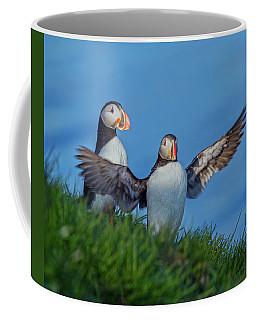 Iceland Puffin Paradise Coffee Mug