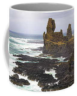 Iceland Seascape Snaefellsnes Cliff Coast Coffee Mug