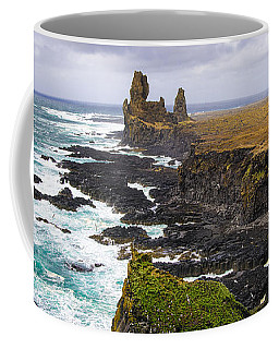 Coffee Mug featuring the photograph Iceland Snaefellsnes Coast by Matthias Hauser