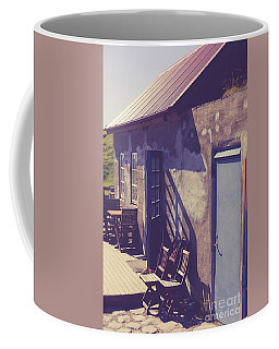 Coffee Mug featuring the photograph Icelandic Cafe by Edward Fielding