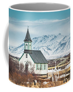 Icelandic Church, Thingvellir Coffee Mug