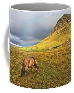 Icelandic Horse And Mountain Coffee Mug