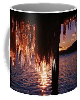 Icicle Stars Sunset Coffee Mug