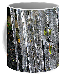 Coffee Mug featuring the photograph Icicles by Sharon Talson