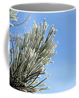 Coffee Mug featuring the photograph Icing On The Needles by Michal Boubin