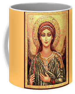 Icon Archangel In Gold Coffee Mug