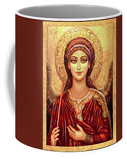 Icon Archangel In Red  Coffee Mug