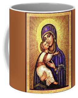 Icon Madonna And Infant Jesus Coffee Mug