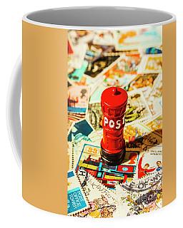 Iconic British Mailbox Coffee Mug