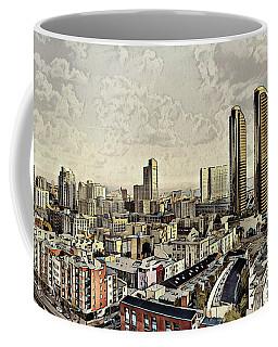 Iconic Harbor Club Towers Coffee Mug
