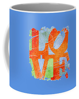 Iconic Love - Grunge Coffee Mug