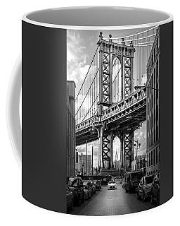 Iconic Manhattan Bw Coffee Mug
