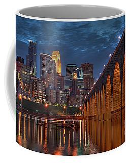 Iconic Minneapolis Stone Arch Bridge Coffee Mug
