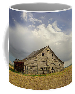 Coffee Mug featuring the photograph Iconic Montana Barn by Jack Bell