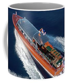 Iconic Thunderbird Yacht Coffee Mug