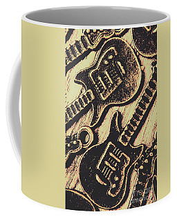 Icons Of Vintage Music Coffee Mug