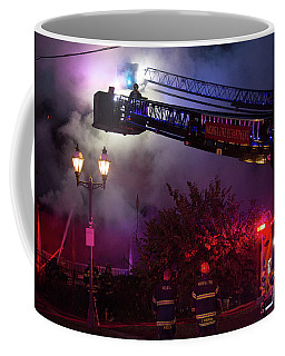 Ict - Burning Coffee Mug