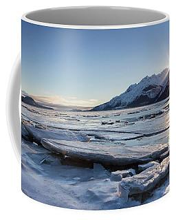 Icy Chilkat Sunset Coffee Mug